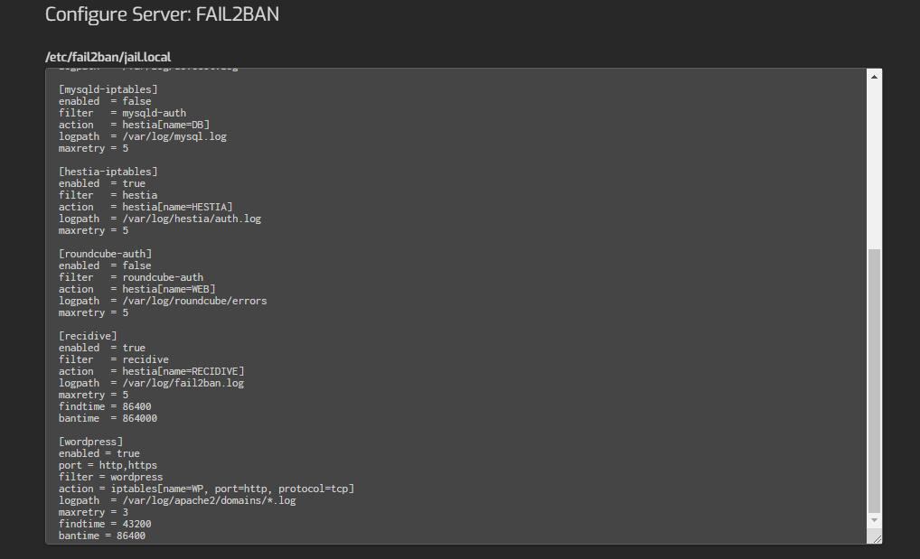 Fail2Ban-Jail-conf-SERVER Hestia-Control-Panel